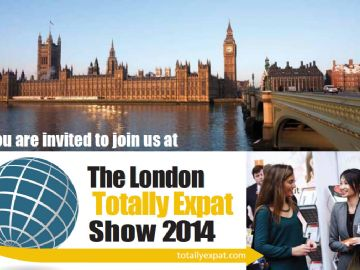 Join us at The London Totally Expat Show 2014