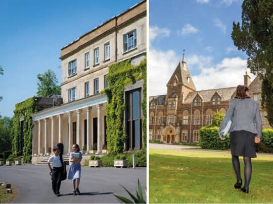 King's Hall School and King's College Taunton