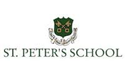 St Peter's School, York Logo